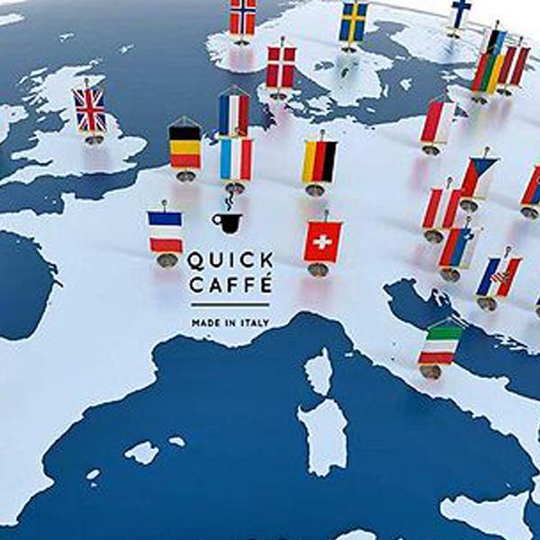 Capsule compatibili Nespresso: Quick Caffe' in Europa