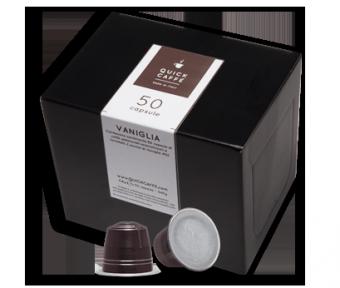 capsules café aromatisé Vanille